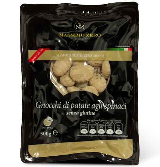 Gnocchi di patate agli spinaci